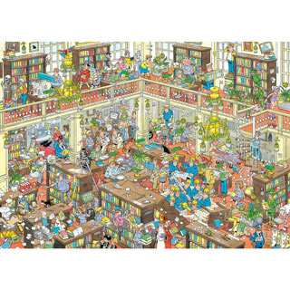 The Library 2000 Piece Jigsaw Puzzle