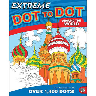 Extreme Dot-to-Dot Book - Around the World