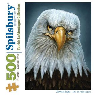 Earnest Eagle 500 Piece Jigsaw Puzzle