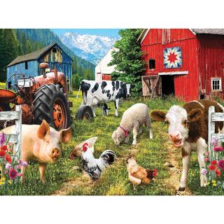 Hello Farm 750 Piece Jigsaw Puzzle