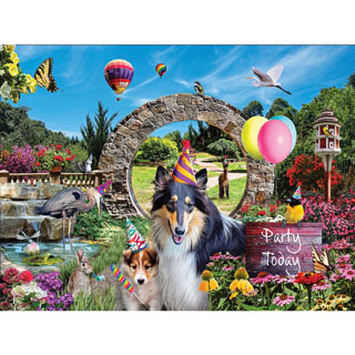 Party Today 1000 Piece Jigsaw Puzzle