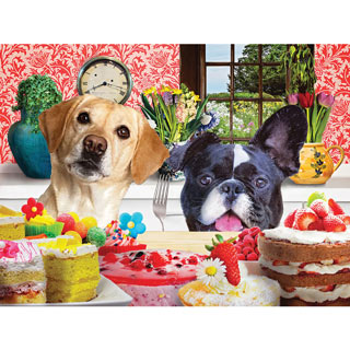 Just One Bite 1000 Piece Jigsaw Puzzle