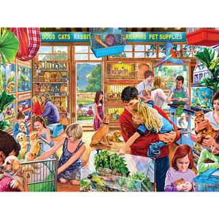 Lucy's First Pet 750 Piece Jigsaw Puzzle