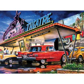 Starlite Drive-In 550 Piece Jigsaw Puzzle