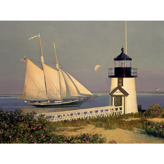 Brant Point Homecoming 300 Large Piece Jigsaw Puzzle