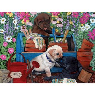 Garden Pups 500 Piece Jigsaw Puzzle
