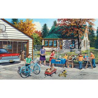 Backyard Sale 300 Large Piece Jigsaw Puzzle