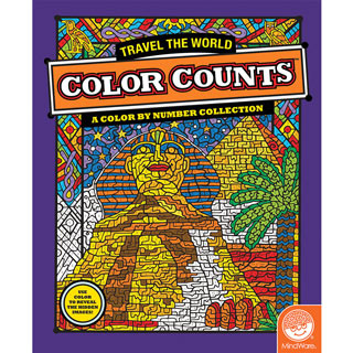 Travel the World-Color Counts Book