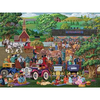 State Fair Picnics 300 Large Piece Jigsaw Puzzle