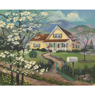 The Yellow House 300 Large Piece Jigsaw Puzzle