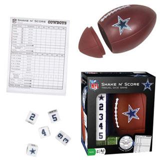 NFL Shake n' Score Game - Dallas Cowboys