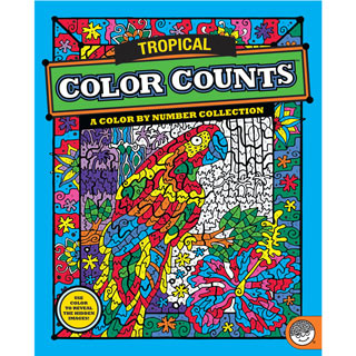 Tropical - Color Counts Book