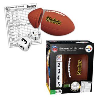 NFL Shake n' Score Game - Pittsburgh Steelers