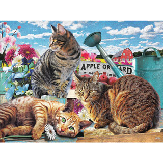 Apple Orchard 300 Large Piece Jigsaw Puzzle