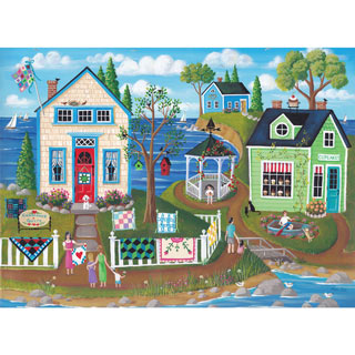 Cupcakes and Quilts 1000 Piece Jigsaw Puzzle