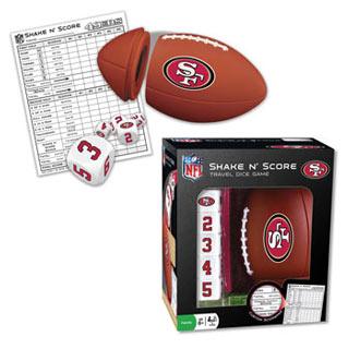 NFL Shake n' Score Game - San Francisco 49ers