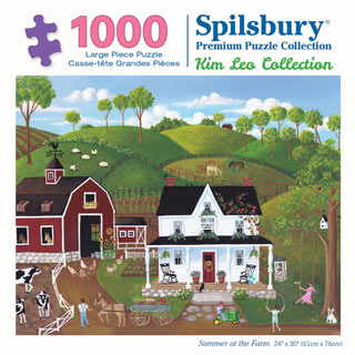 Summer at the Farm 1000 Piece Jigsaw Puzzle
