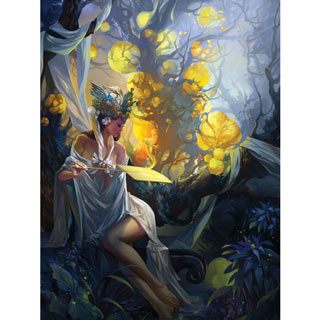 Firefly Queen 300 Large Piece Jigsaw Puzzle