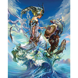Queen Of The Sea 1000 Piece Jigsaw Puzzle