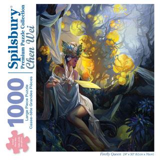 Firefly Queen 1000 Piece Jigsaw Puzzle