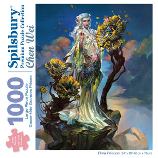 Flora Princess 1000 Piece Jigsaw Puzzle