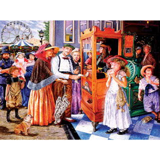 Fortune Teller 300 Large Piece Jigsaw Puzzle