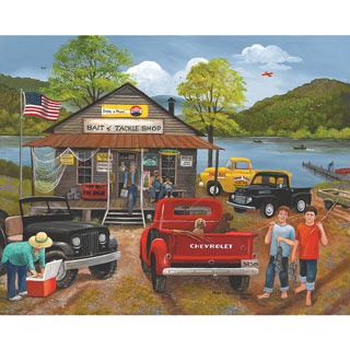 Bait & Tackle Shop 300 Large Piece Jigsaw Puzzle