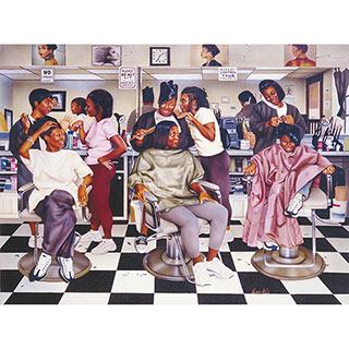Beauty Shop Gossip 1000 Piece Jigsaw Puzzle