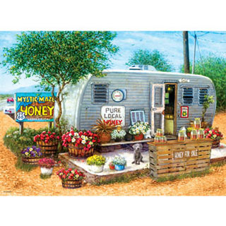Honey for Sale 500 Piece Jigsaw Puzzle