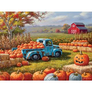 Pumpkin Farm Festival 300 Large Piece Jigsaw Puzzle