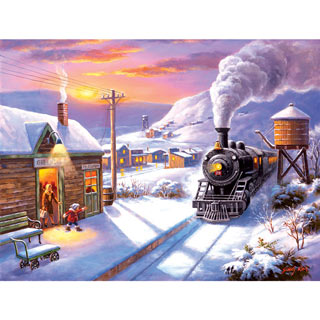 Greenville Depot 300 Large Piece Jigsaw Puzzle