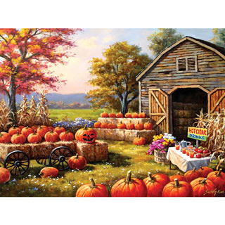 Pumpkins For Sale 1000 Piece Jigsaw Puzzle