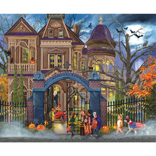 Moonlight Manor 1000 Piece Jigsaw Puzzle