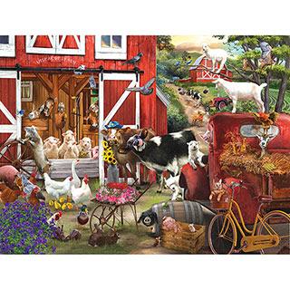 Wise Acres Farm 300 Large Piece Jigsaw Puzzle