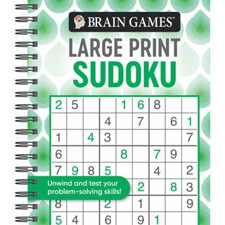 Large Print Puzzle Book - Sudoku