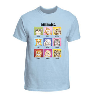 Cattitudes T-Shirt