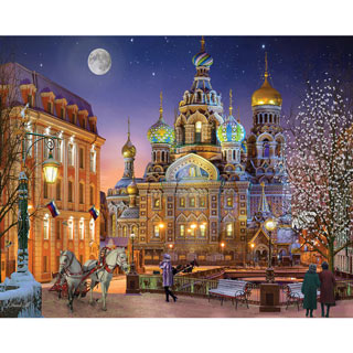 Russia With Love 1000 Piece Jigsaw Puzzle