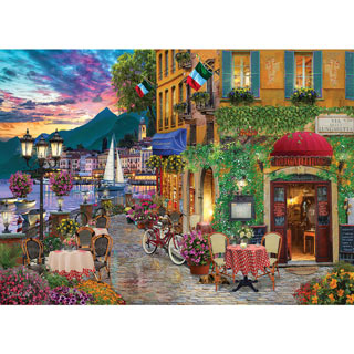 Irresistible Italy 1000 Piece Jigsaw Puzzle