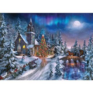 Christmas Night 1000 Piece Jigsaw Puzzle