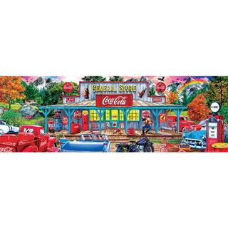 Coca-Cola Stop-N-Sip 1000 Piece Jigsaw Puzzle