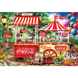 Coca-Cola Stand 2000 Piece Jigsaw Puzzle