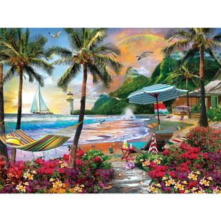 Hawaiian Life 550 Piece Jigsaw Puzzle