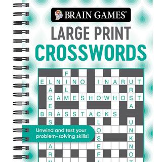 Large Print Puzzle Book - Crosswords