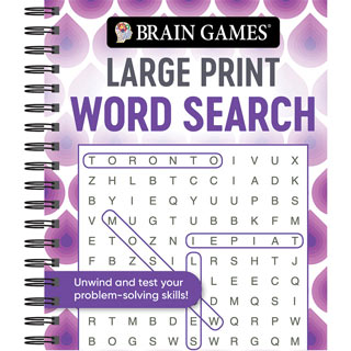 Large Print Puzzle Book - Word Search
