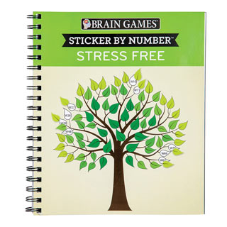 Sticker By Number Stress Free Book