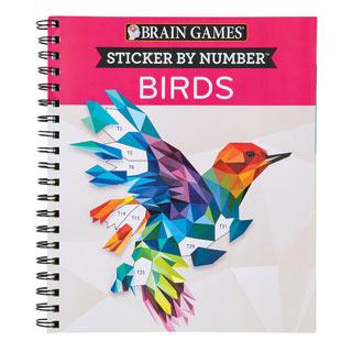 Sticker By Number Birds Book