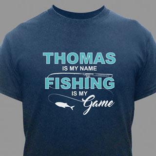Personalized Fishing T-Shirt