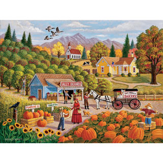 Valley Orchards 300 Large Piece Jigsaw Puzzle