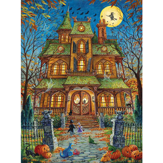 The Trick Or Treat House 1000 Piece Jigsaw Puzzle