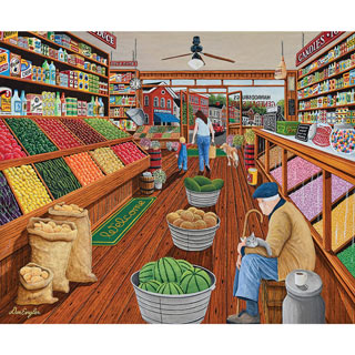 The Shopkeeper 300 Large Piece Jigsaw Puzzle